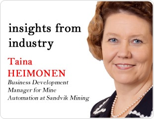 Mine Automation: An Interview with Taina Heimonen